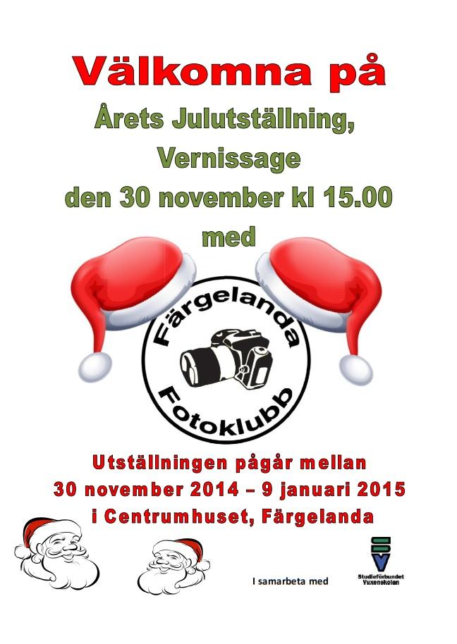 Julutställning 2014