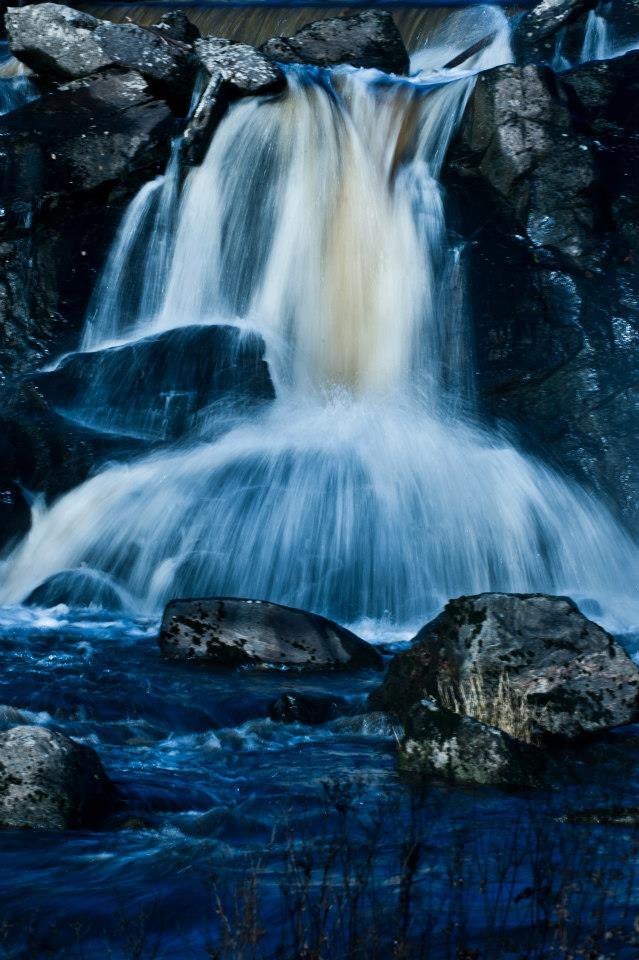 Forsande vatten är något som alltid har fascinerat mig Foto © Johnny Odden